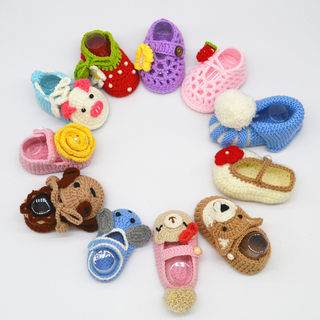 rlk baby shoes handmade diy material package baby shoes crochet wool crochet milk cotton toddler shoes soft soled shoes