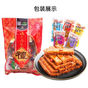 金福元香辣五香豆干零食500g