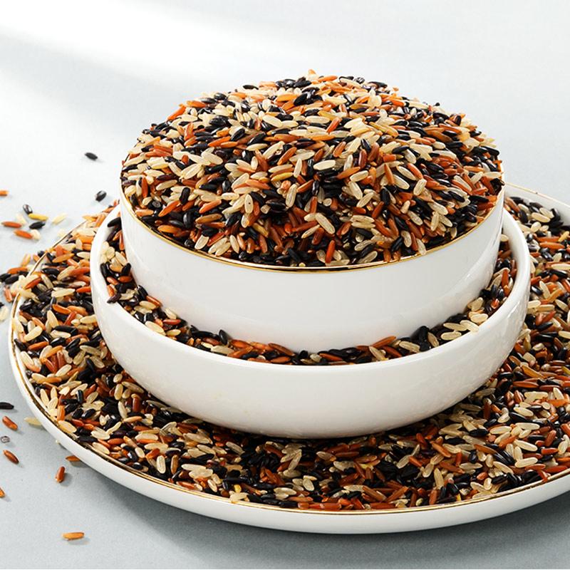 三色五谷杂粮糙米新米5斤