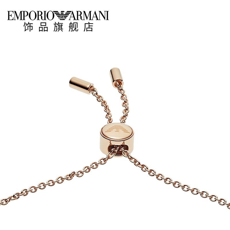 【双11预售】Armani阿玛尼银饰星星手链女轻奢小众饰品送女友礼物