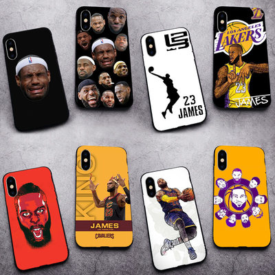 NBA James mobile phone case Apple 11 custom XR silicone X soft 8 Europe and the United States 7PLUS tide card 6 lakes 12PRO LeBron iphone11 Huawei P40 / P30 basketball Vivox27 millet 10