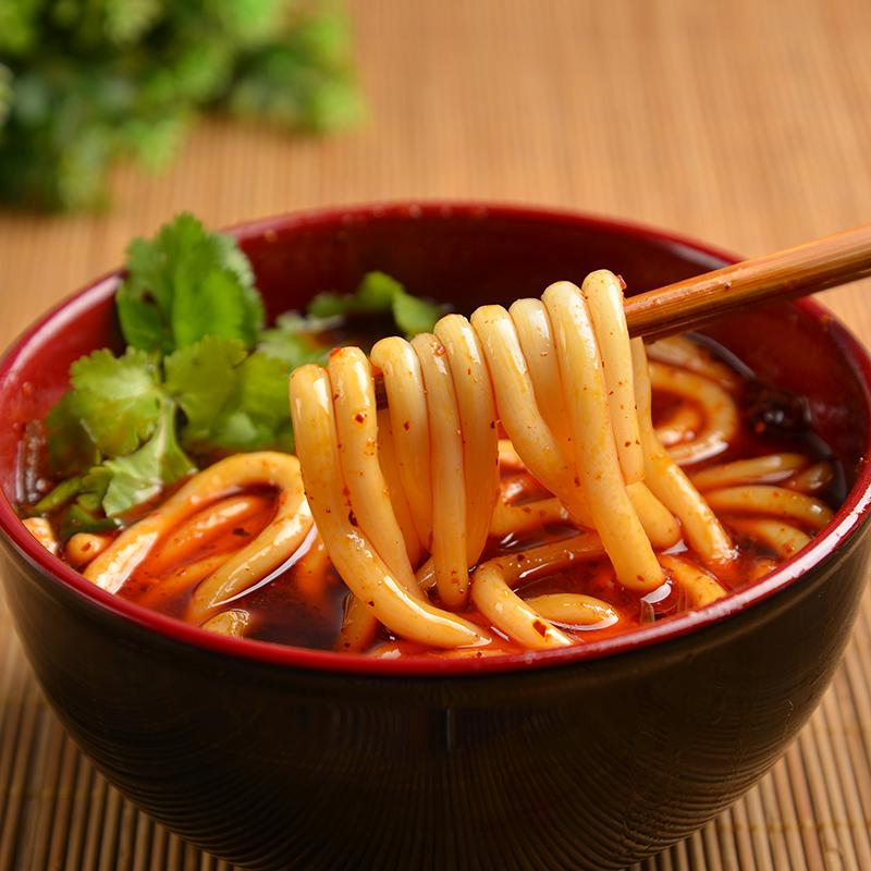 重庆正宗砂锅土豆粉5袋+3包榨菜