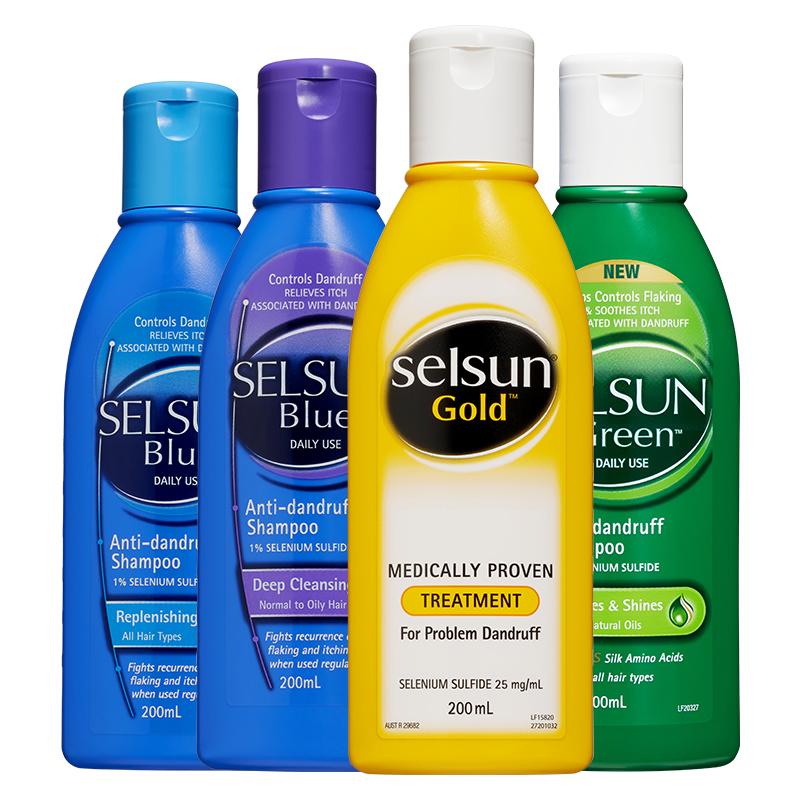 【selsun】无硅油洗发水200ml