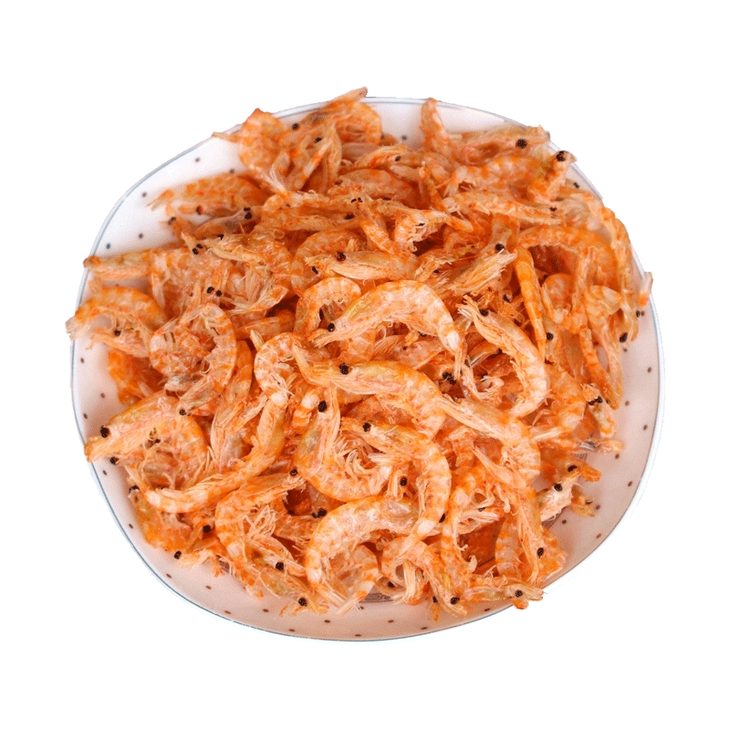 ¥15.90 淡干虾皮即食特级红磷虾皮无盐淡干