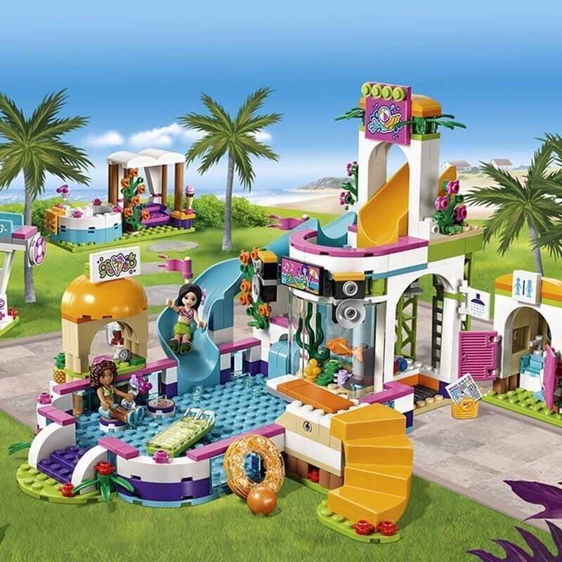 公主系列女孩兼容乐高积木益智拼装别墅城堡儿童乐高拼图玩具礼物
