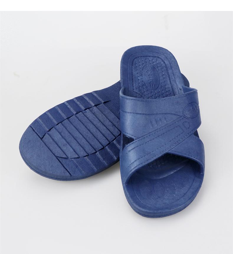 Chống tĩnh dép nhựa nam và nữ làm việc SPU mềm dưới PVC-tĩnh giày việc giày điện tử nhà máy phòng sạch