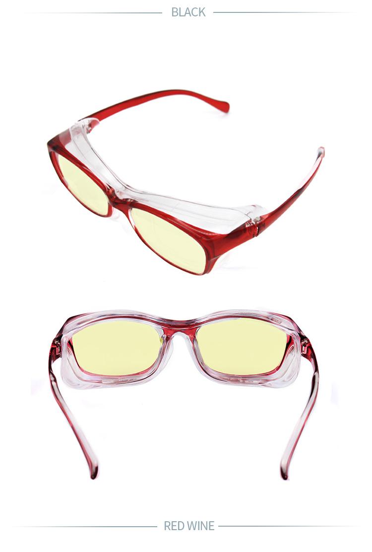 安格莱尔湿房镜干眼症防蓝光辐射激光手术缓解疲劳保湿护目眼镜详细照片