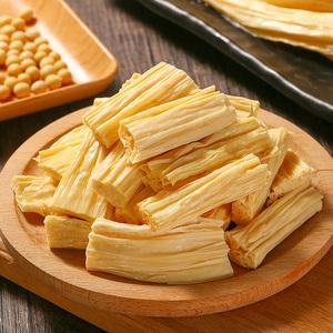 腐竹干货500g纯正手工特级许昌腐竹凉拌菜火锅食材黄豆干鲜腐竹