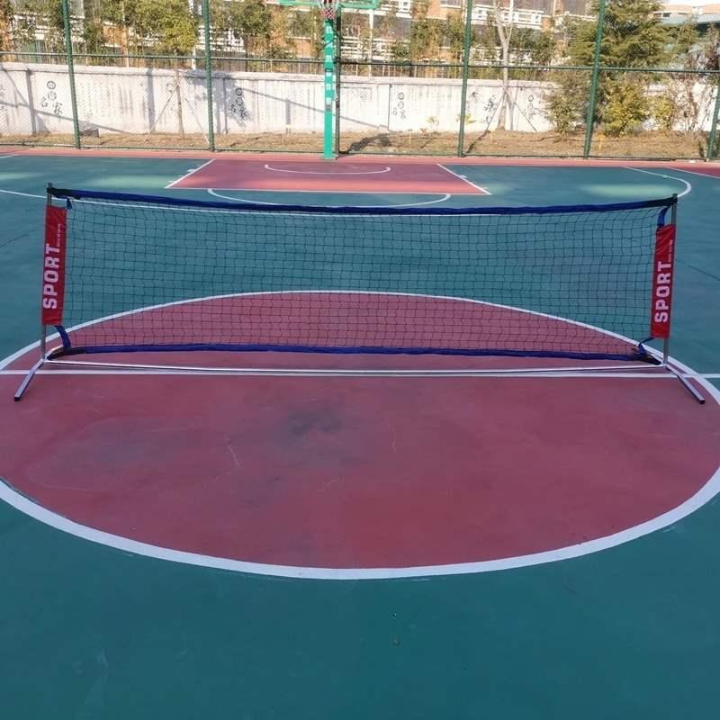 Trong nhà chung cư sân tennis lưới tennis di động ngoài trời thể thao chịu lực giá tennis lưới di động lưới vợt cầu lông - Quần vợt