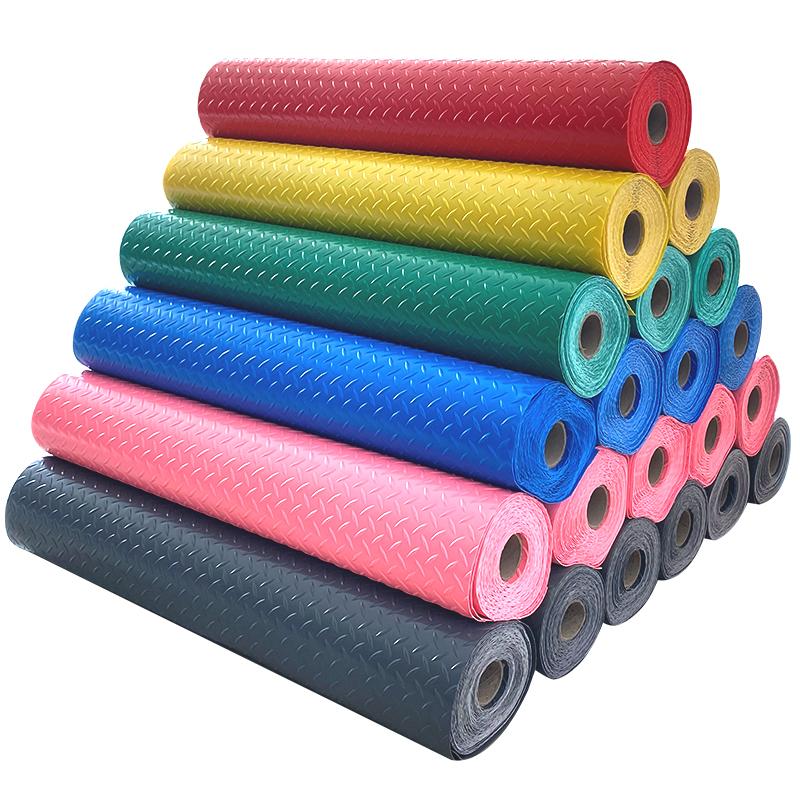 雪柯室外防滑垫塑料防水牛津耐磨工厂地垫可擦洗pvc地垫大面积
