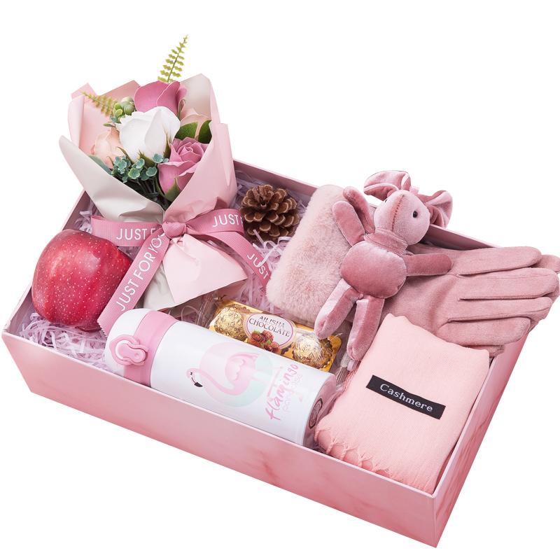 圣诞节礼物送女友平安夜苹果精致创意礼品老婆媳妇异地恋实用礼盒
