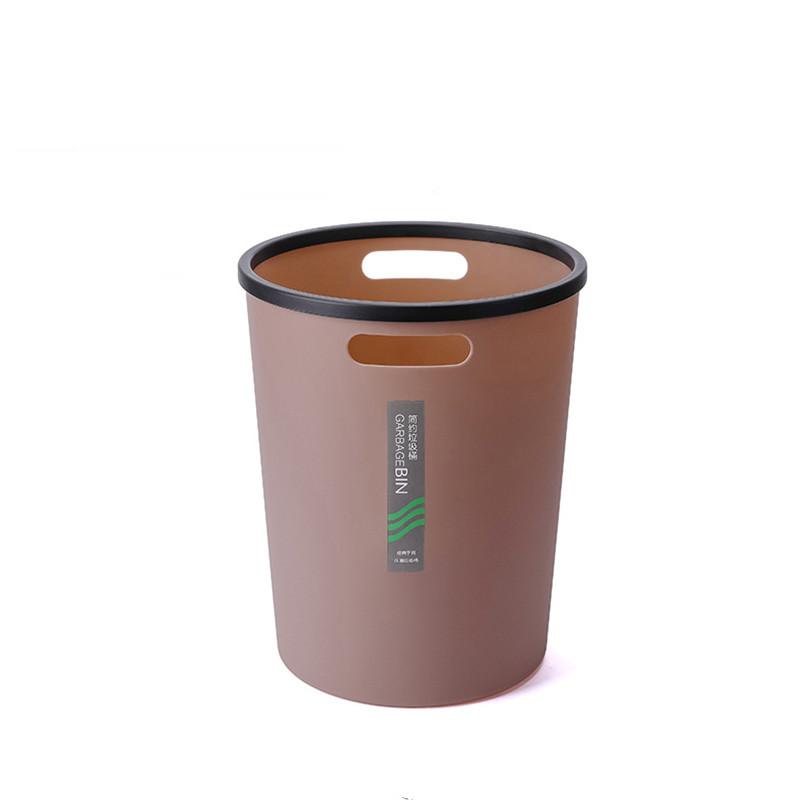垃圾桶家用厨房客厅创意轻奢办公室卧室厕所卫生间大容量ins风小