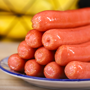 台湾热狗纯肉烤肠1.9斤25根