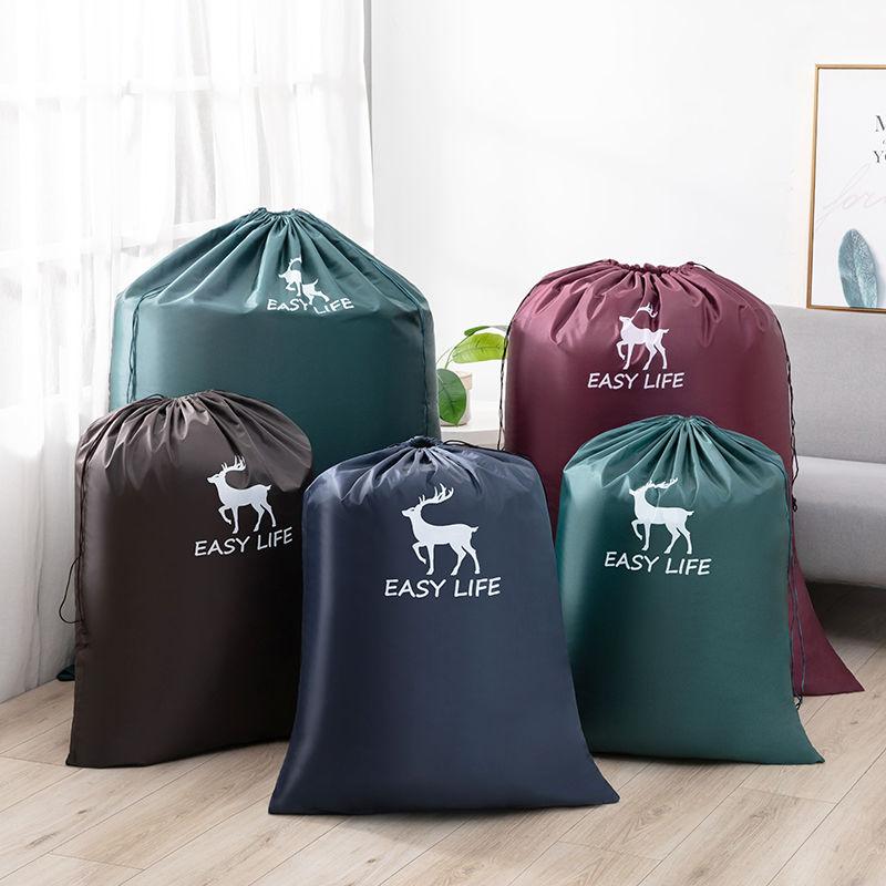 超大号玩具衣服收纳袋防水抽绳束口袋小布袋子特大容量整理防尘袋