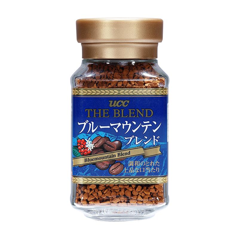【拍二件】UCC速溶蓝山咖啡粉50g进口