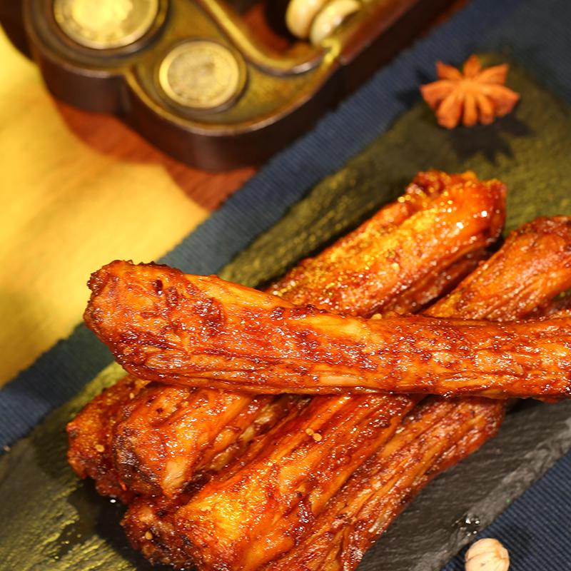【5袋】糖醋卤味风干烤脖子熟食零食小吃