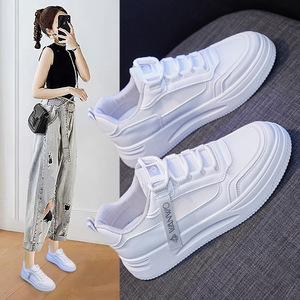 女士夏季网面小白鞋学生休闲运动鞋板鞋网鞋