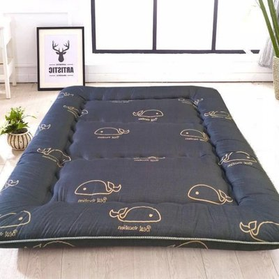 Clearance thickened feather velvet bed mat mattress single double student dorm tatami mattress folding bed