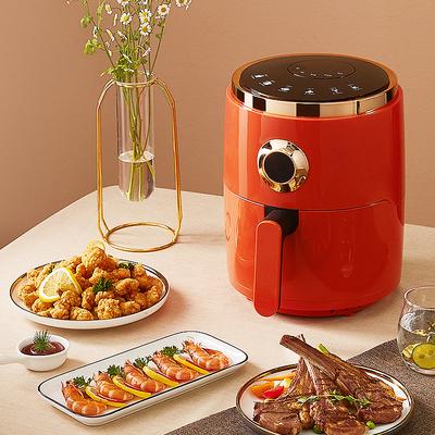 荣事达4.5L无油空气炸锅家用大容量新款网红多功能自动电炸薯条机