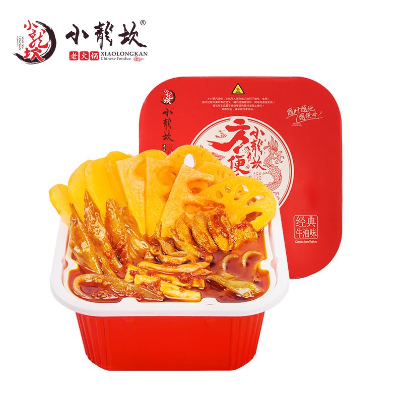 小龙坎牛肉鸡翅自热小火锅速食懒人自煮自助ω加热速热方便速食荤菜