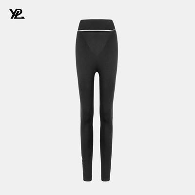 YPL芭比塑型裤美体专业收腰瑜伽裤女健身裤外穿长裤跑步打底裤子