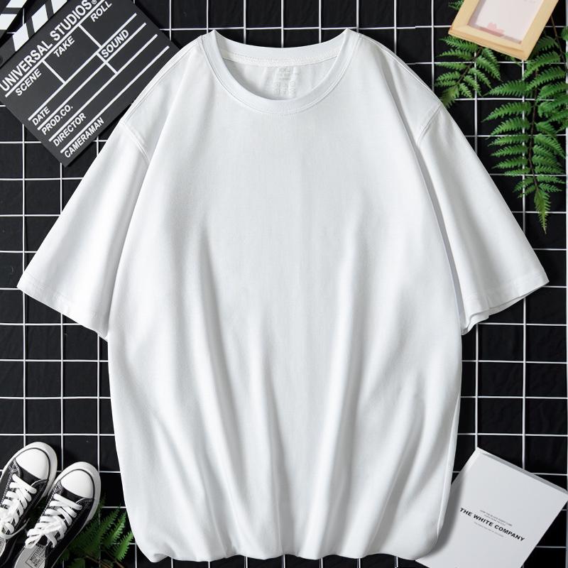 夏季短袖t恤衫男2021新款潮流百搭短袖