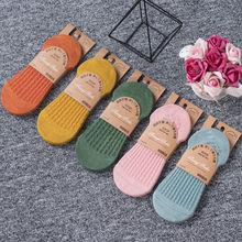 袜子女韩版短袜棉袜浅口可爱日系隐形袜女袜