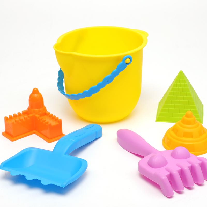 云畅儿童沙滩套装玩沙挖沙桶铲子工具决明子宝宝戏水洗澡夏天玩具