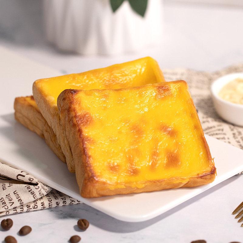 网红岩烧乳酪吐司夹心早餐面包350g