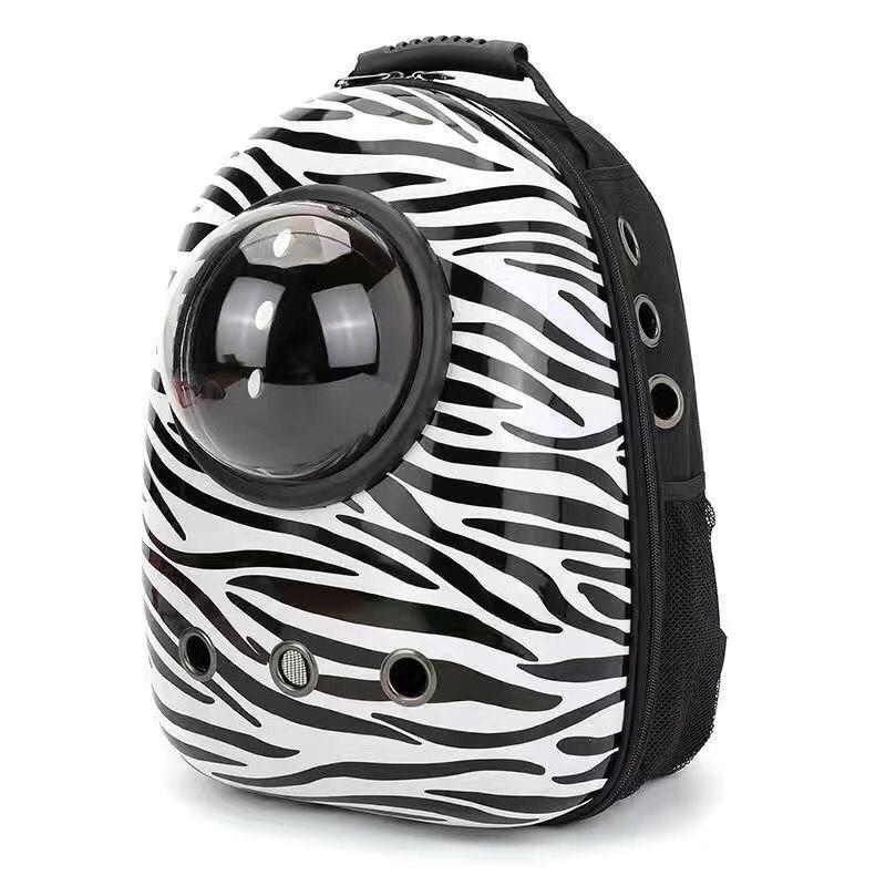 中國代購 中國批發-ibuy99 宠物背包太空舱双肩包舒适透气胸前包手提包透明包加大扩展猫狗包