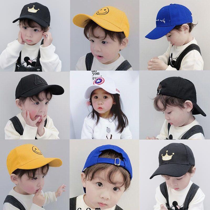 儿童帽子男潮遮阳帽夏季男童女童鸭舌帽薄款宝宝棒球帽春秋防晒帽