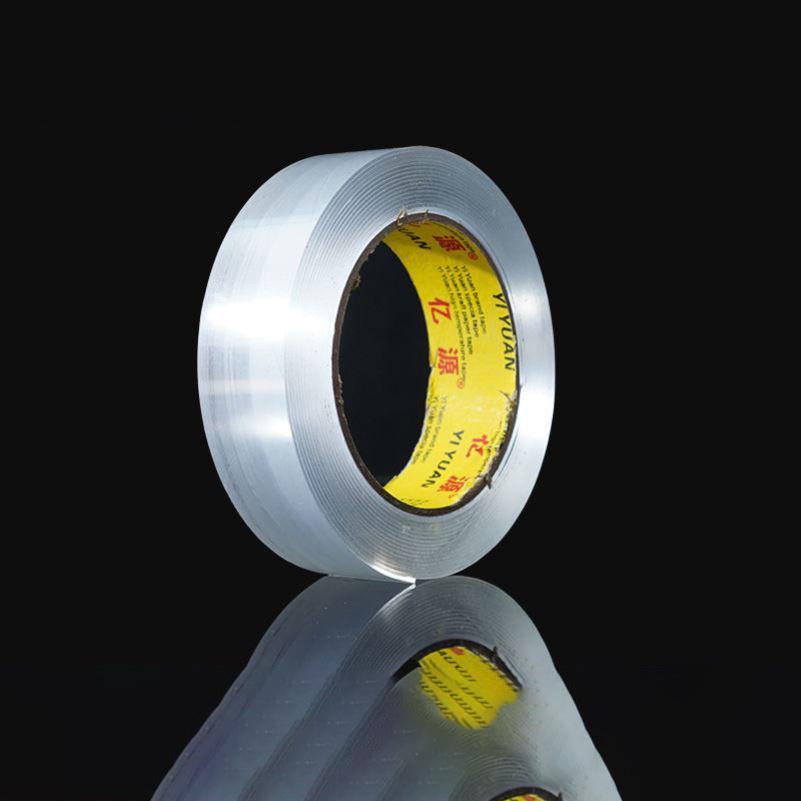 魔力纳米双面胶无痕透明防水强力万次纳米胶贴高粘度固定墙面