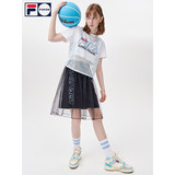 FILAFUSION Fei Le star T-shirt female two-piece suit T11W125101FLB