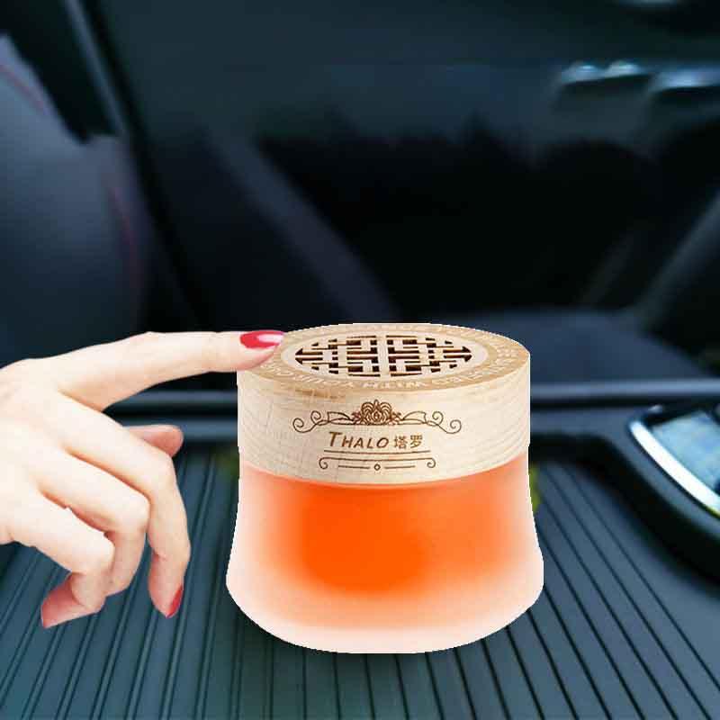 车载香水固体香膏车内除异味空气清新剂家用持久淡香熏车饰品摆件