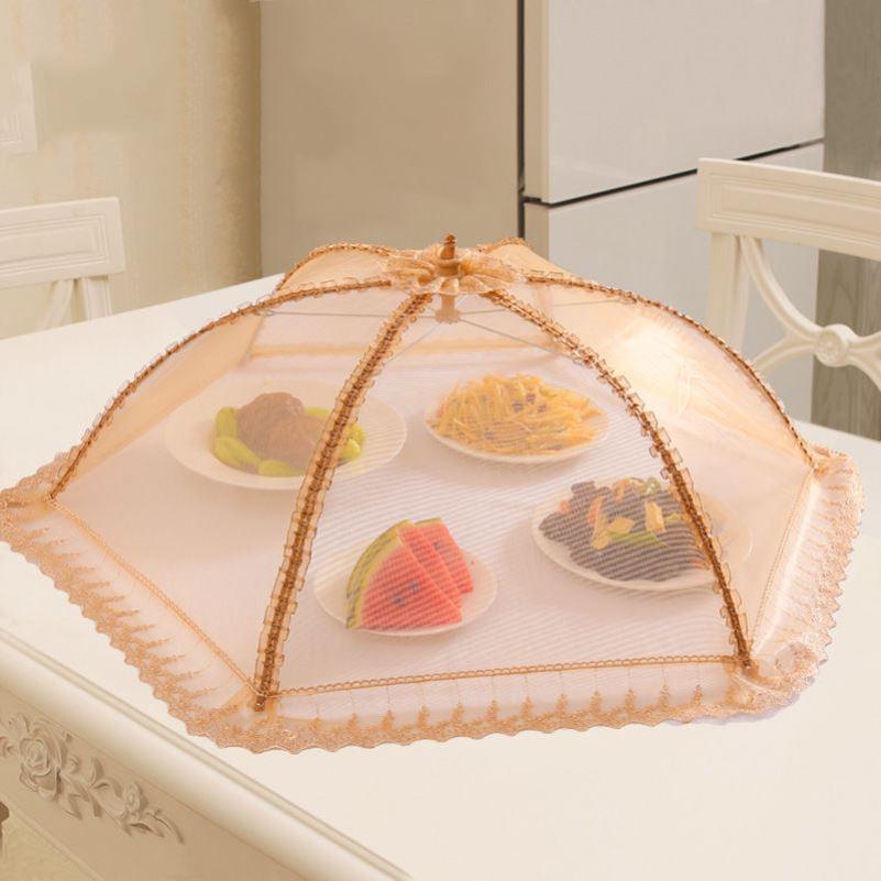 新款家用盖菜罩网多功能大号折叠餐桌罩网纱