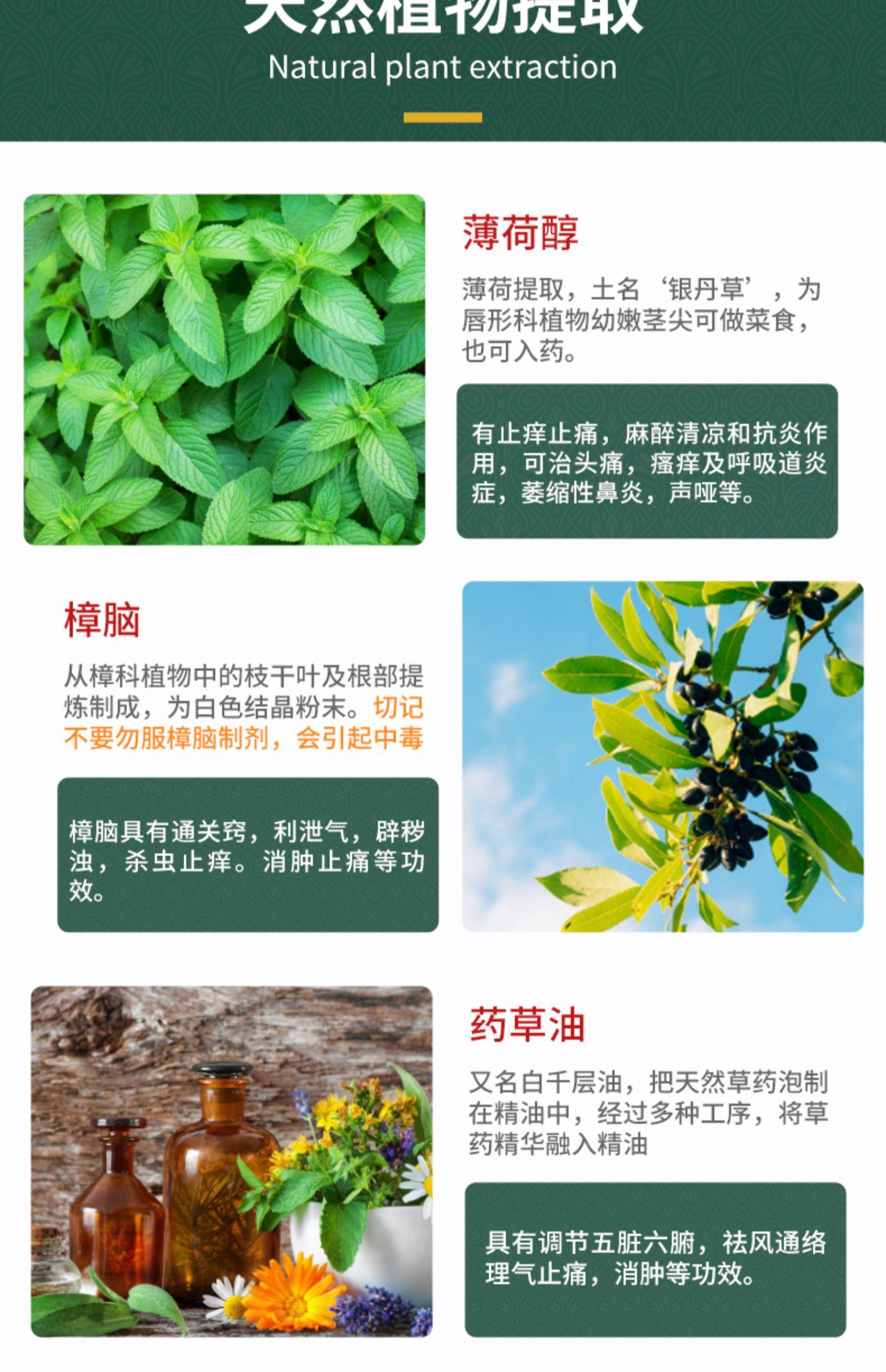 泰国卧佛青草药膏商品图片-10