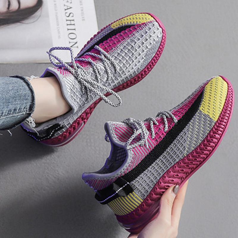 春季浅口跑步鞋镂空网面健身鞋运动鞋