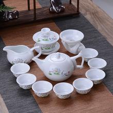 居家日用【送茶夹】茶具套装简约茶杯