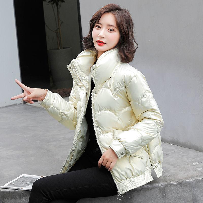 【清仓】女士免洗亮面羽绒棉服小棉袄外套