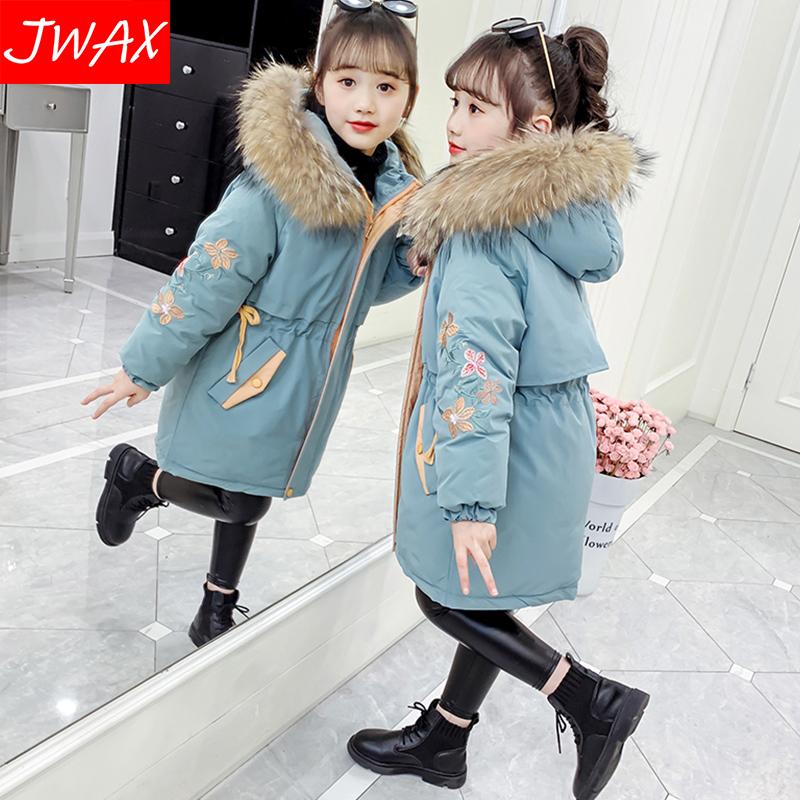 童棉衣派克服冬装2020新款童装洋气中大儿童外套加厚羽绒棉服袄