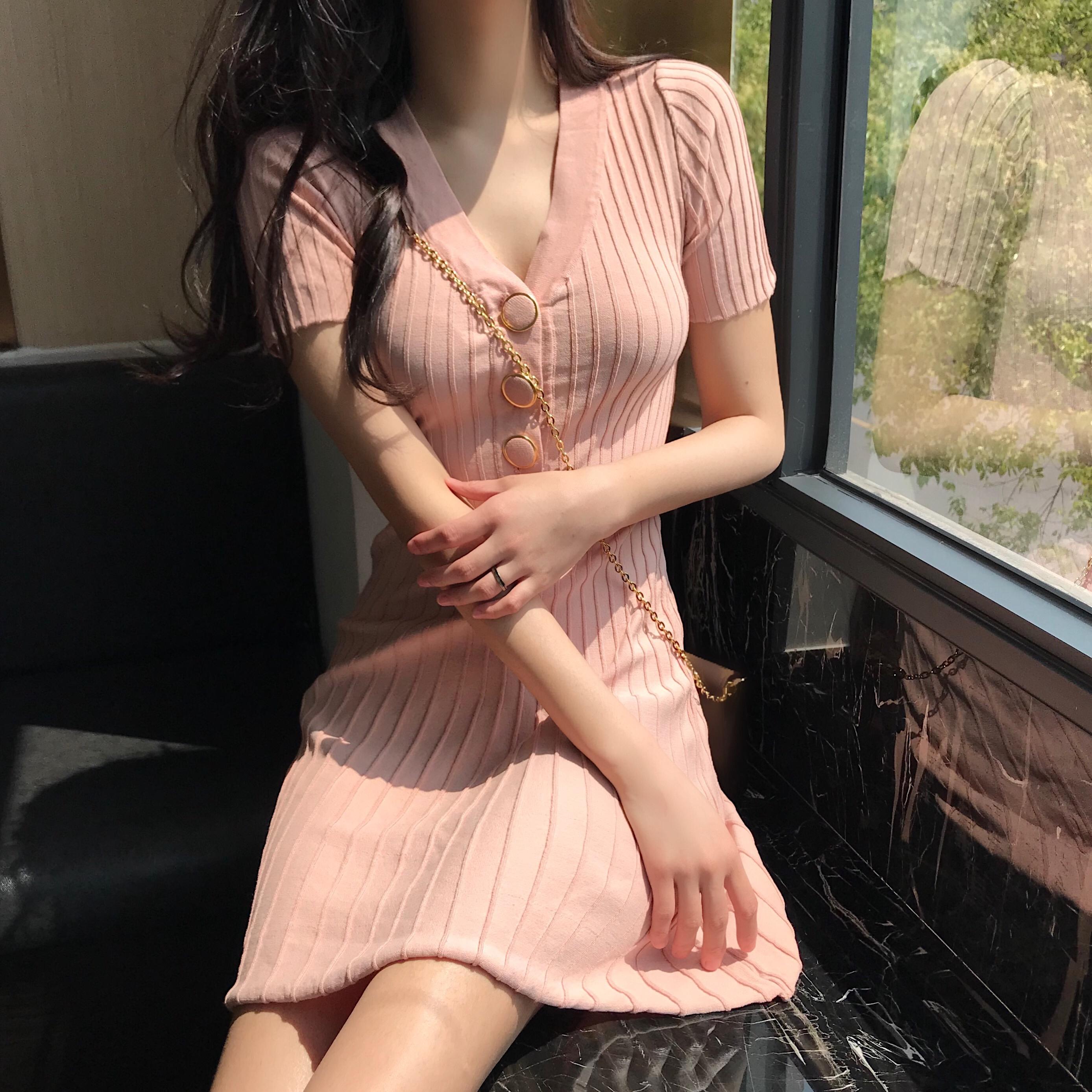 裙子成熟气质女生御姐范莲衣群夏装女2018新款适合矮个子女装夏季