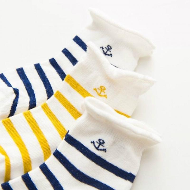 宝宝纯棉袜子婴儿童袜加厚保暖新生儿袜0-1-3岁6-12个月春秋冬季