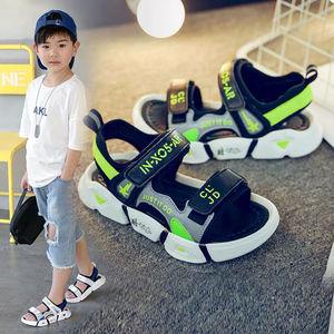 女童凉鞋男童沙滩鞋夏季新款儿童公主鞋夏中