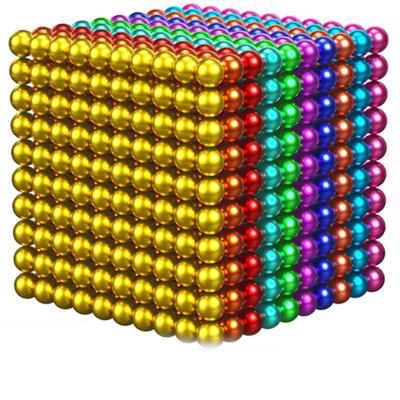 1000颗巴克球磁力球磁力棒魔力珠马克益智八克球便宜成人解压玩具