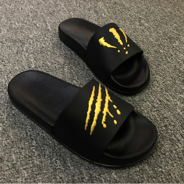 0cd6a7c57 Summer men's slippers, claws, trend, indoor and outdoor, a word drag ...