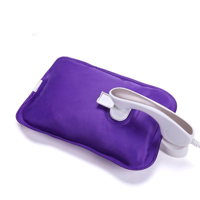 热水袋充电式防爆暖手宝宝女暖肚子毛绒电暖宝可爱热宝暖水袋注水