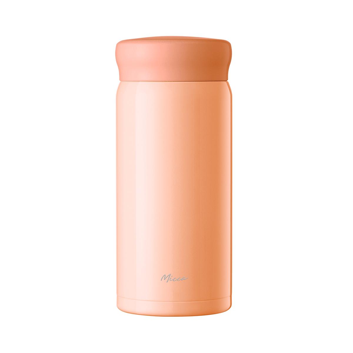 美的Micca马卡龙保温杯mini杯男女士316不锈钢便携儿童旋盖水杯子