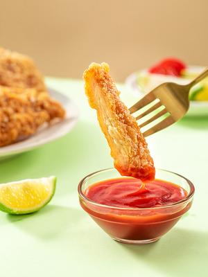 民和鸡排半成品冷冻咔滋脆裹粉鸡趴10片炸串零食小吃汉堡包炸鸡