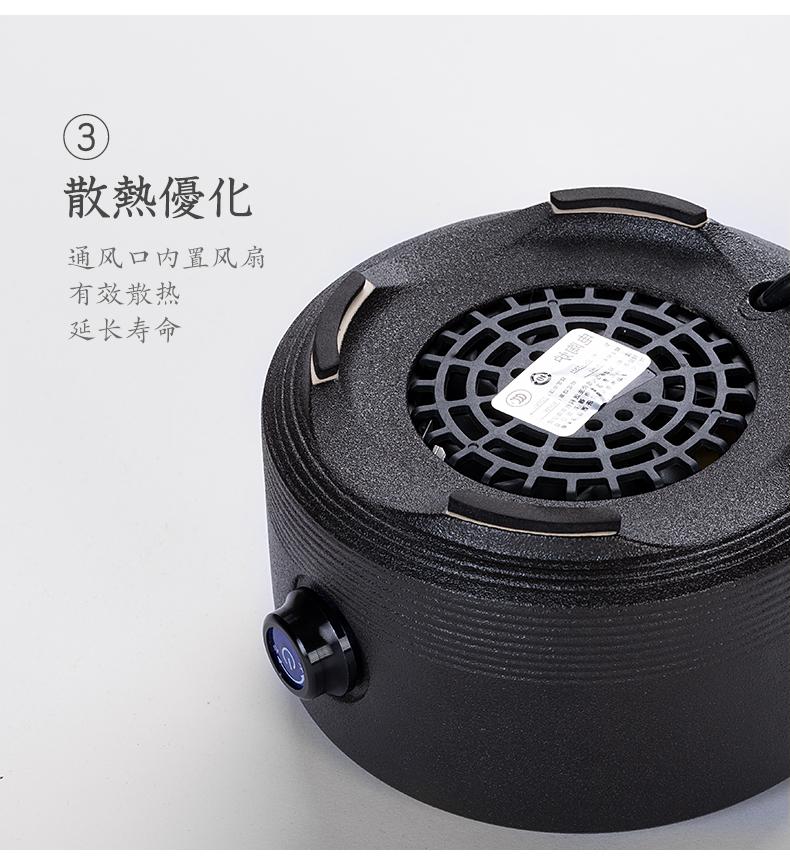 辰艺耐热玻璃煮茶壶加厚可加热带过滤功夫茶电陶炉专用煮茶器家用