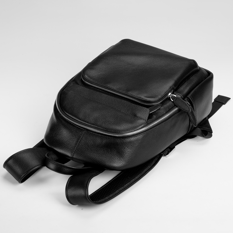 047acf251dd5 ... moreview · lightbox moreview. PrevNext. Leather Men s small backpack  shoulder bag Korean fashion trend bag Mini British casual street leather New